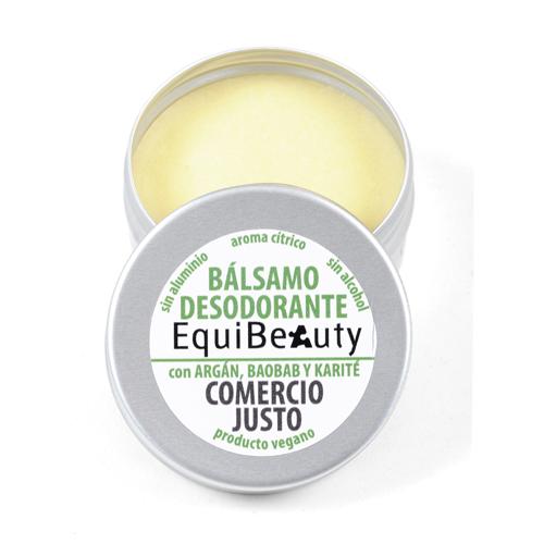 Desodorante sólido con bicarbonato aroma cítrico