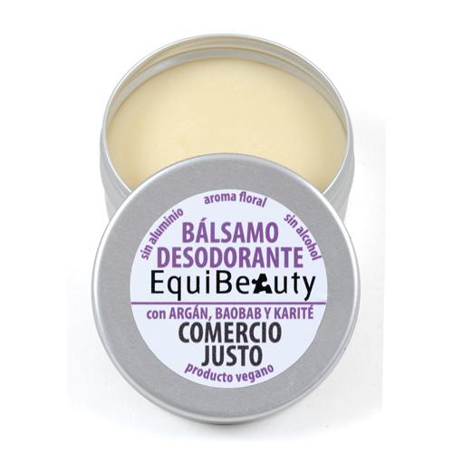 Desodorante sólido con bicarbonato y aroma floral