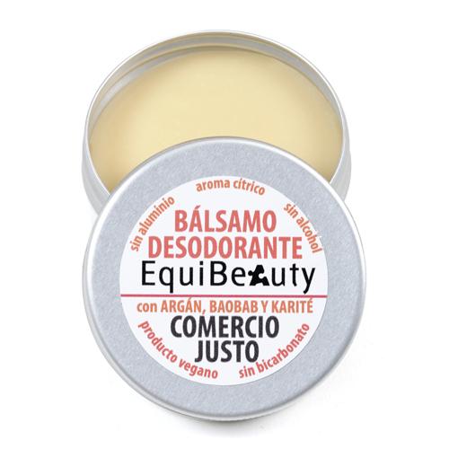 Desodorante sólido sin bicarbonato con aroma cítrico